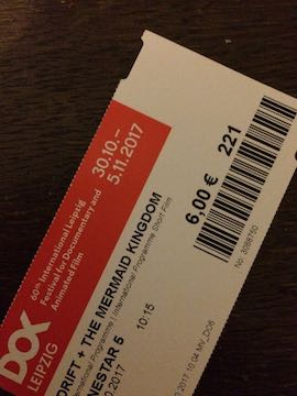 "DOK Leipzig 2017: Ticket ""The Mermaid's Kingdom"""