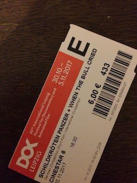 "DOK Leipzig 2017: Ticket ""When the Bull Cried"""